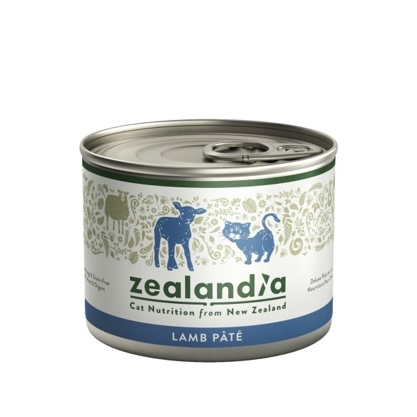 Karma Zealandia - dla kota - Jagnięcina 185 g