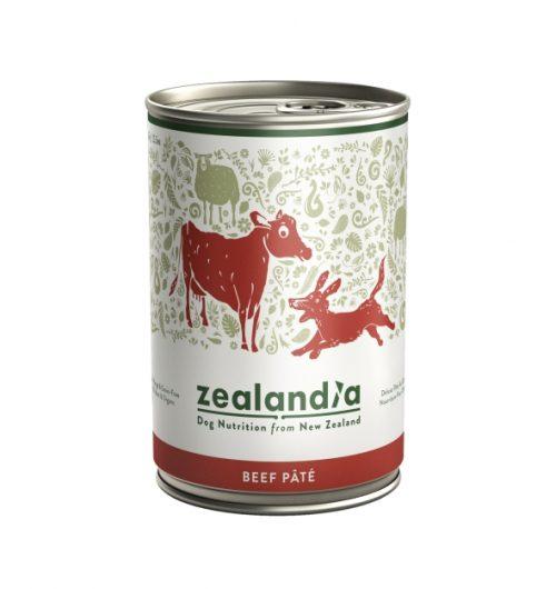 Karma Zealandia - dla psa - Wołowina 385 g